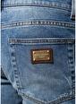 Dolce&Gabbana Dolce&Gabbana  Normal Bel Dar Paça Jean Pantolon 101556859 Mavi